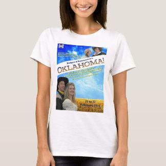 Oklahoma-Plakat-Damen-Shirt T-Shirt