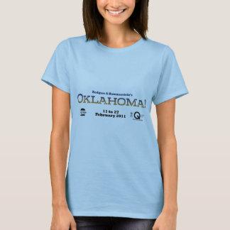 Oklahoma-Titel-Damen-Shirt T-Shirt