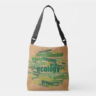 Ökologie-Umbau-Wolken-Vintage Tasche