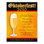 Oktoberfest Einladung 10,8 X 14 Cm Einladungskarte