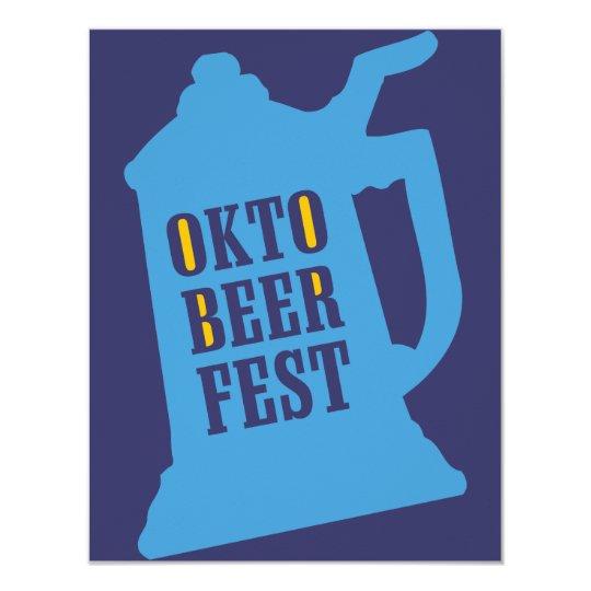 Oktoberfest Einladungen - Bier-Probieren-Party