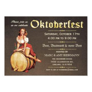 Oktoberfest Einladungen (Vintages) v.2