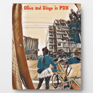 Olive und Dingo in PDX Fotoplatte