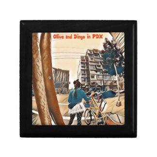 Olive und Dingo in PDX Geschenkbox