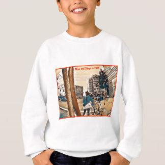 Olive und Dingo in PDX Sweatshirt
