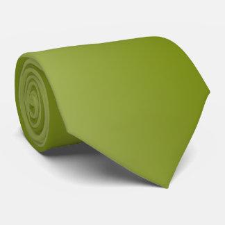 Olivgrün mit Rückseite Krawatte