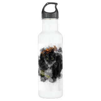 Olivgrüne Wasserflasche