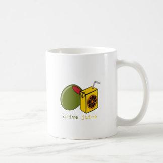 Olivgrüner Saft Tasse