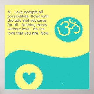 OM-Liebe Poster