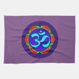 OM-Symbol heilige Buddhismusreligion Küchentuch