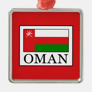 Oman Silbernes Ornament