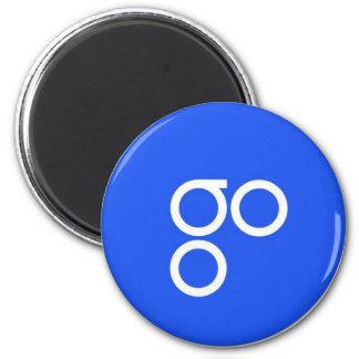 OmiseGO Magnet Runder Magnet 5,1 Cm