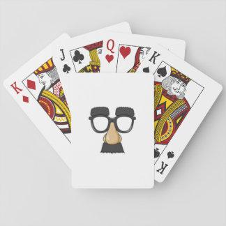 onPlaying Karten des lustigen Gesichtes Spielkarten