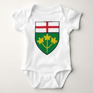 Ontario-Schild Baby Strampler