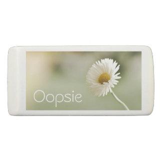 Oopsie Gänseblümchen - hübsche Blume Radiergummi 1