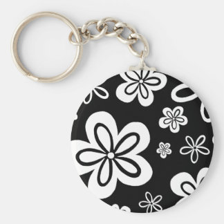 Oopsy Gänseblümchen - Rückseite Standard Runder Schlüsselanhänger