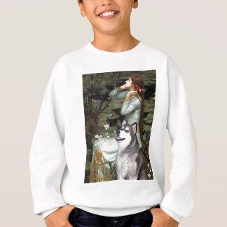 Ophelia setzte - alaskischen Malamute Sweatshirt
