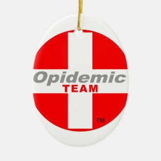 Opidemic Team Keramik Ornament