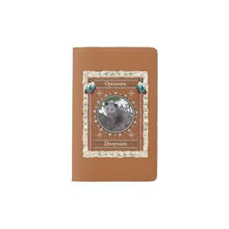 Opossum - Ablenkungs-Notizbuch-Moleskin-Abdeckung Moleskine Taschennotizbuch