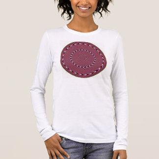 optisch langarm T-Shirt