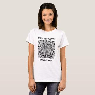 Optische Illusions-Shirt T-Shirt