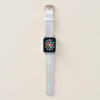 Optische Mehrfarbenlinien Apple Watch Armband