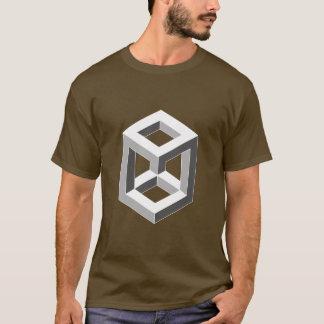Optische Täuschung - Kasten T-Shirt