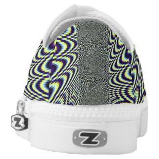 optische Täuschung Niedrig-geschnittene Sneaker