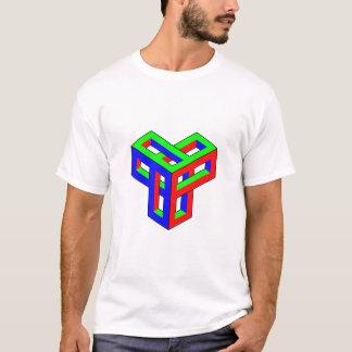 Optische Täuschung RGB-Blöcke T-Shirt