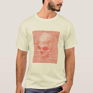 Optisches Schädel-T-Stück T-Shirt