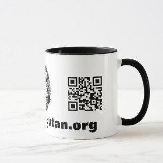Orang-Utan QR Code Tasse