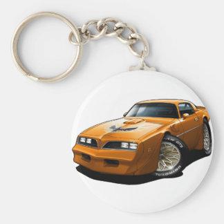 Orange 1977-78 Transportes morgens Schlüsselanhänger