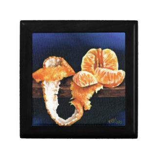 Orange, abgezogen schmuckschachtel