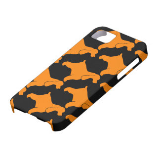 Orange Cocker spaniel Etui Fürs iPhone 5