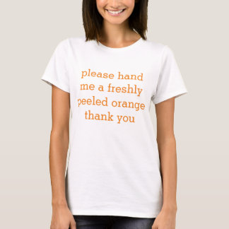 orange emoji T-Shirt