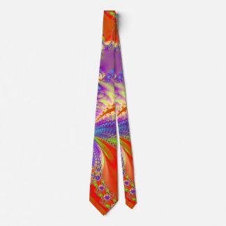Orange Freude Bedruckte Krawatten