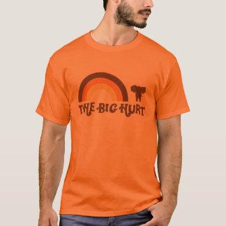 Orange großer Hurt-Regenbogen-T - Shirt