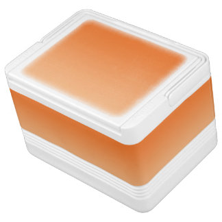 Orange Ombre Igloo Kühlbox