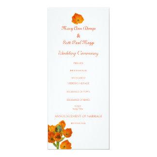 orange stern des bethlehem hochzeitsprogramms 10 2 x 23 5 cm einladungskarte. Black Bedroom Furniture Sets. Home Design Ideas