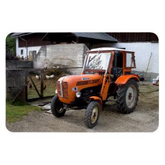 Orange Steyr Traktor Kiloliter II Rechteckige Magnete