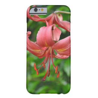 Orange Tigerlilien-Druck iphone Kasten Barely There iPhone 6 Hülle