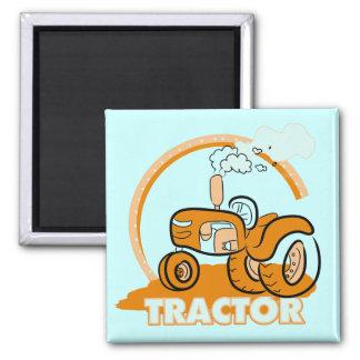Orange Traktor-T-Shirts und Geschenke Magnete