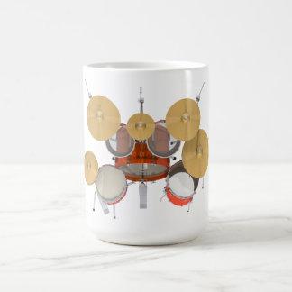 Orange Trommel-Ausrüstung: Kaffeetasse