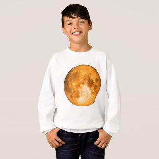 orange Vollmond Sweatshirt