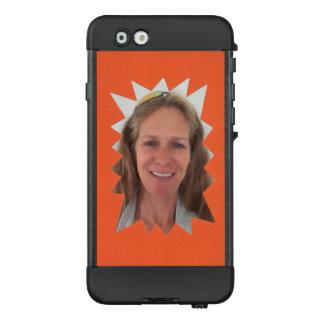Orangen-Explosions-Foto-Rahmen LifeProof NÜÜD iPhone 6 Hülle