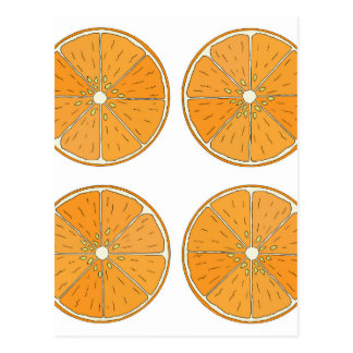 Orangen Postkarte
