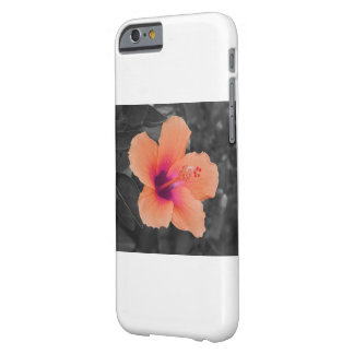 Orangener Hibiskus Barely There iPhone 6 Hülle