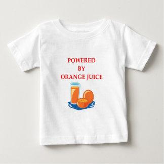 Orangensaft Baby T-shirt