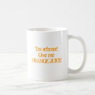 Orangensaft Tasse