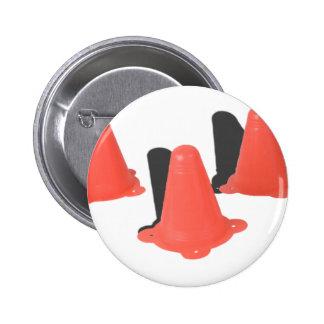 OrangeTrafficCones050915.png Runder Button 5,1 Cm
